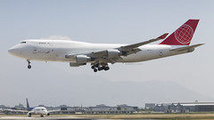 Boeing 747-433(BSDF) / Air Cargo Global / OM-ACJ