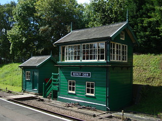 Signal cabin at Rothley station on the Great Central Railway