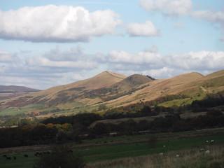 The Great Ridge, from near Manor House Farm