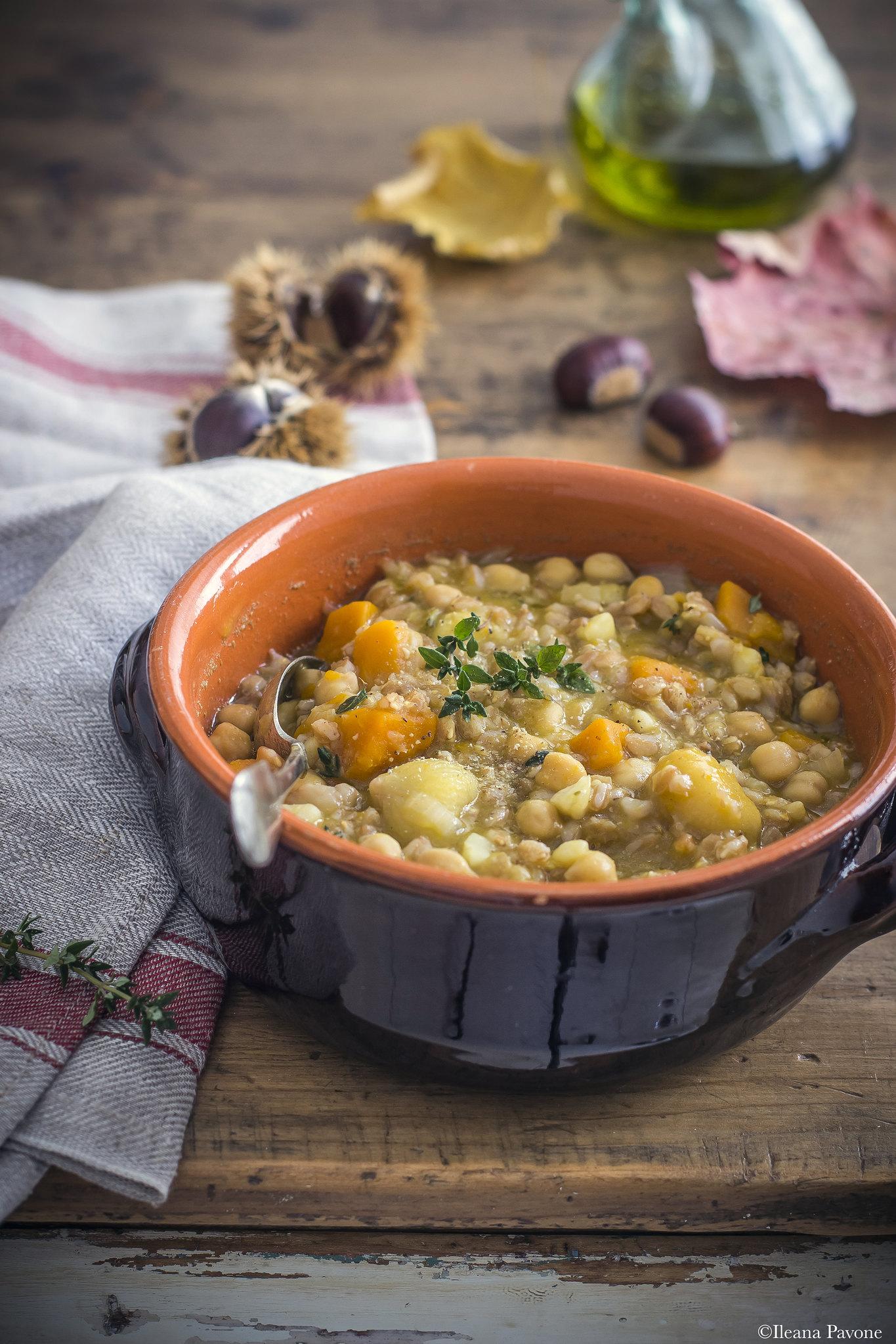 Zuppa di farro e castagne_3