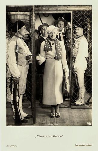 Gitta Alpar in Die - oder keine (1932)