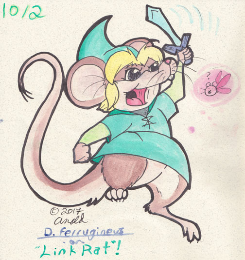 Day Two: Link Rat