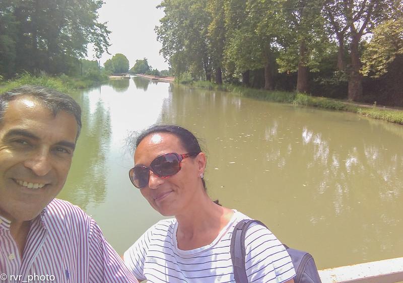 Canal Deux Mers en Moissac