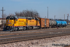 UPY 571 | EMD GP15-1 | UP Memphis Subdivision