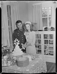 SMDR Photographic Negatives Collection, [1940s50s][Dietterich - Divilbiss Wedding 1-46]