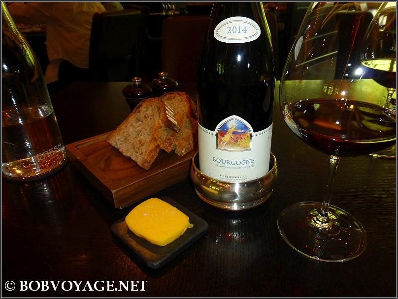 Mugneret Gibourg Bourgogne Rouge 2014 ב- Dinner by Heston Blumenthal