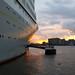 Sunrise at SS Rotterdam