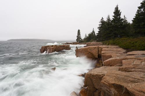 Schoodic Point Sea Action