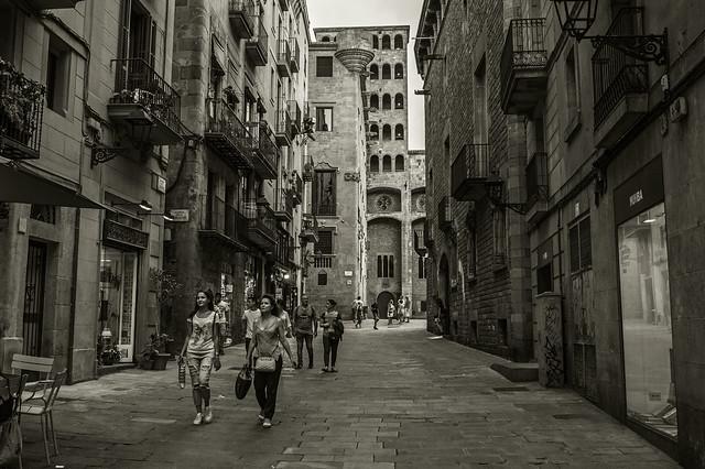 Old Barcelona....