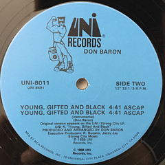 DON BARON:ACTION(LABEL SIDE-B)