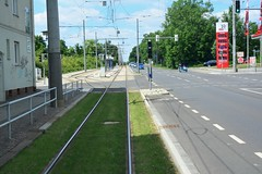 Leipzig 2017 – Single track with passing place