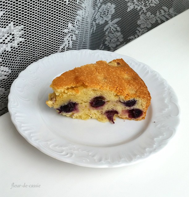 пирог с виноградом 2