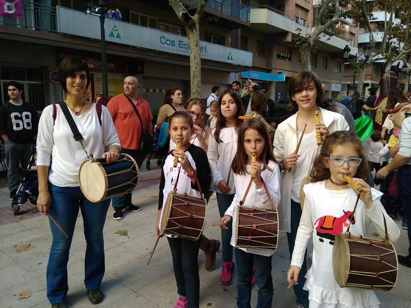 Flabiols a la Fira de Santa Úrsula a Valls