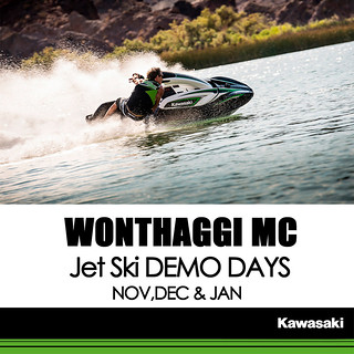 KAWASAKI DEALER EVENTS – WONTHAGGI MOTORCYCLES JET SKI DEMO DAY: Nov, Dec and Jan