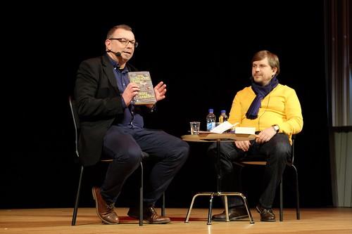 Mats Granberg och ryske författaren Sergej Lebedev