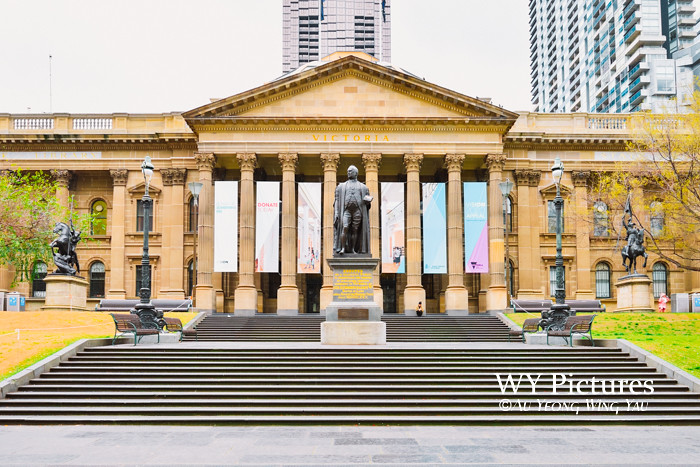 Melbourne 2017:  State LIbrary Of Victoria Exterior