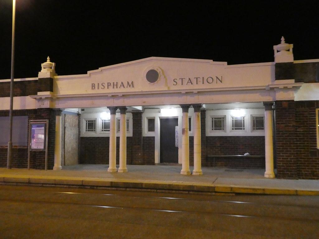 Bispham Tram Station