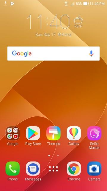ASUS Zenfone 4 Selfie Pro Screenshots