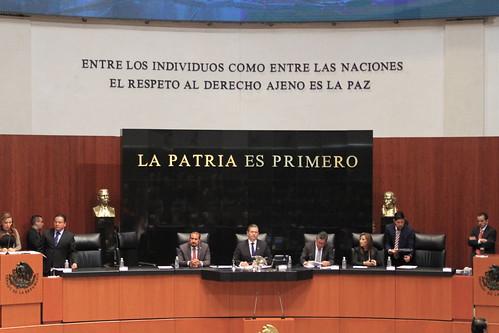 Sesión Ordinaria Senado de la República 13/oct/17