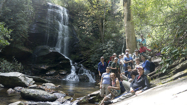 2017 Catawba Falls Hike