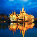 Wat None Kum at night, Nakhon Ratchasima province Thailand