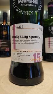 SMWS 36.136 - Fruity tang spangle