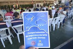 07/10/2017. Prefeitura de Belo Horizonte e Bombeiros capacitam integrantes dos núcleos de defesa civil, alerta de chuva e escoteiros. Foto: Rodrigo Clemente/PBH