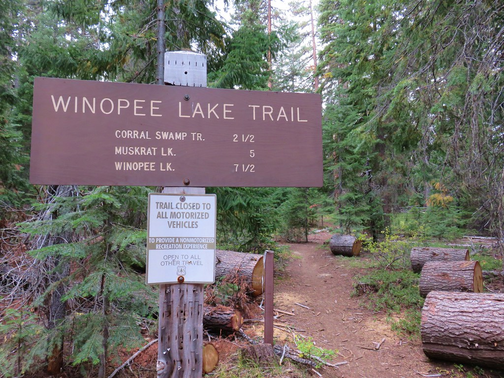 Winopee Lake Trailhead
