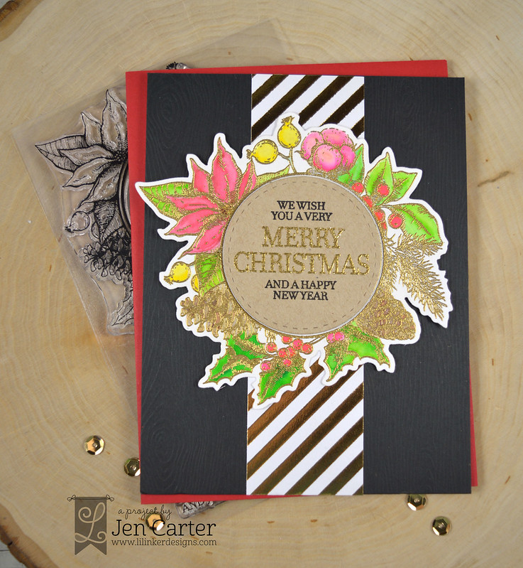 Jen Carter Vintage Christmas Wreath 2 wm