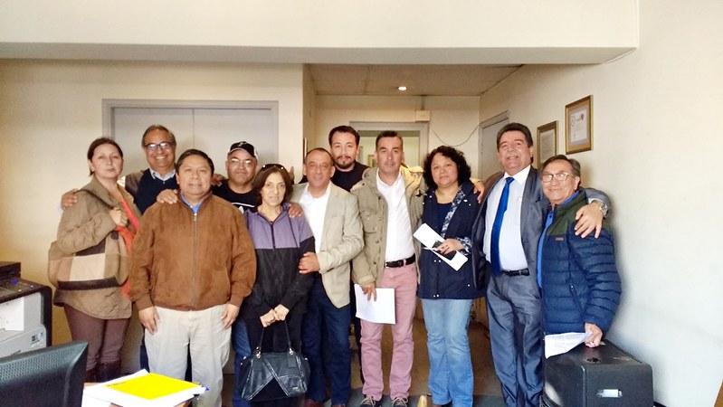 """Reunión de coordinación y preparación de las competencias para el """"Día del Funcionario/a Municipal de Santiago 2017"""" 12 oct 2017"""