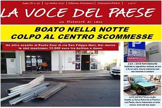Noicattaro. Prima pagina n. 36-2017 front