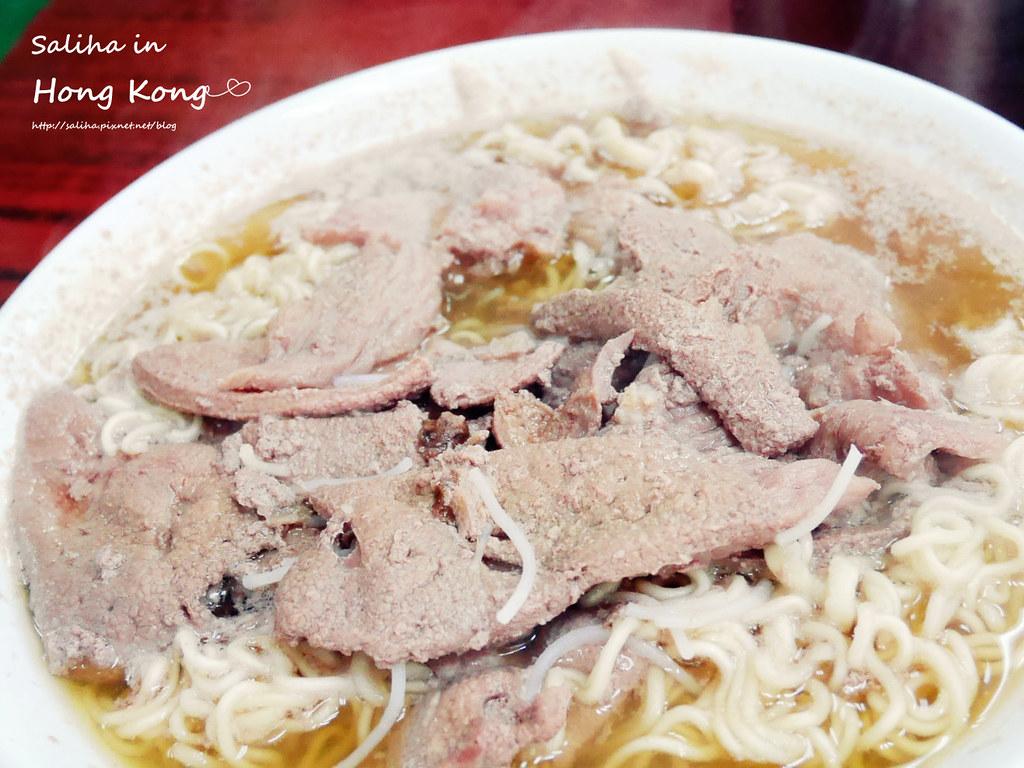 香港餐廳推薦維記咖啡粉麵豬潤麵 (2)