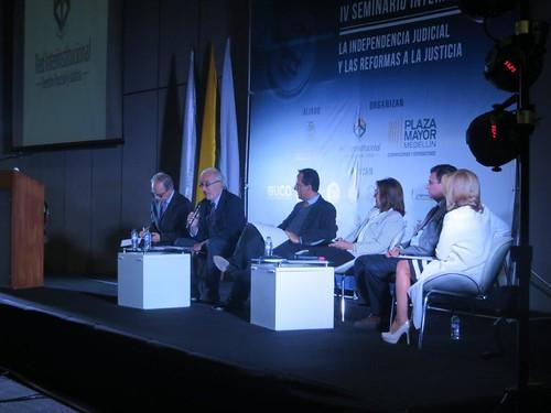 Seminario Int. La Independencia Judicial y las reformas a la Justicia - 5 y 6 de Octubre de 2017