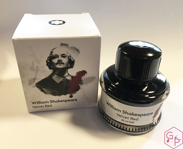 Ink Shot Review @Montblanc_World William Shakespeare Velvet Red @couronneducomte 1