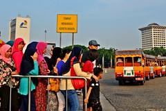 Antrian #Monas #Jakarta