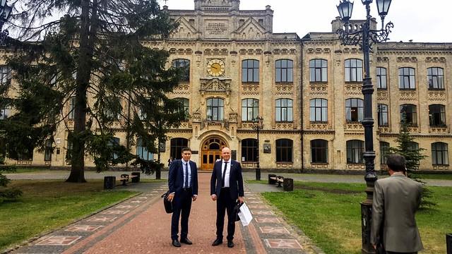 LEI ir MITA delegacija Ukrainoje