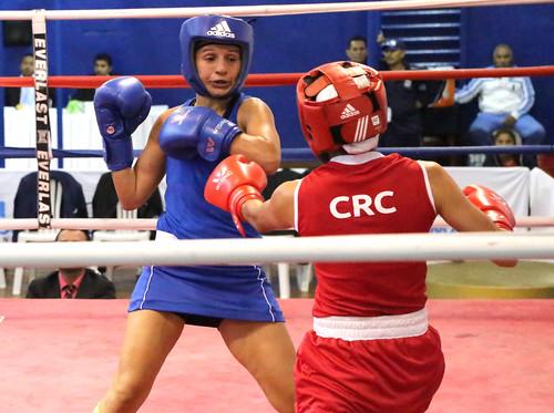 Finales del XXIII Centroamericano y V Copa Internacional femenina de boxeo