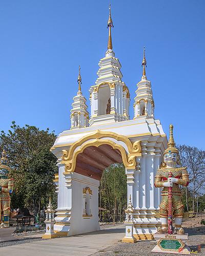 Wat Mongkhon Wari Temple Gate (DTHCM1554) วัดมงคลวารี ประตูวัด