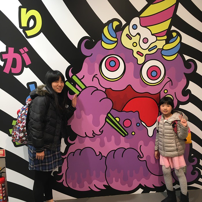 kawaii, monster, japan, 原宿, 日本, 東京, tokyo ,polomanbo,波蘿麵包
