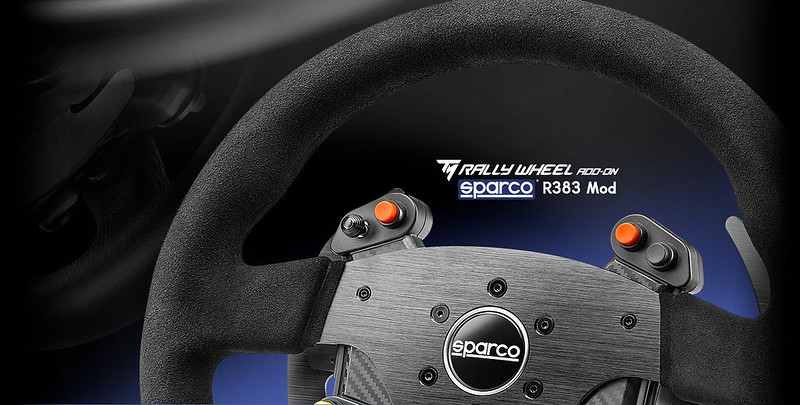 Thrustmaster Sparco R383 Mod Addon Wheel Available For Pre-Order