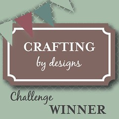 crafting by designs winner | Tracy Marie Lewis | www.stuffnthingz.com