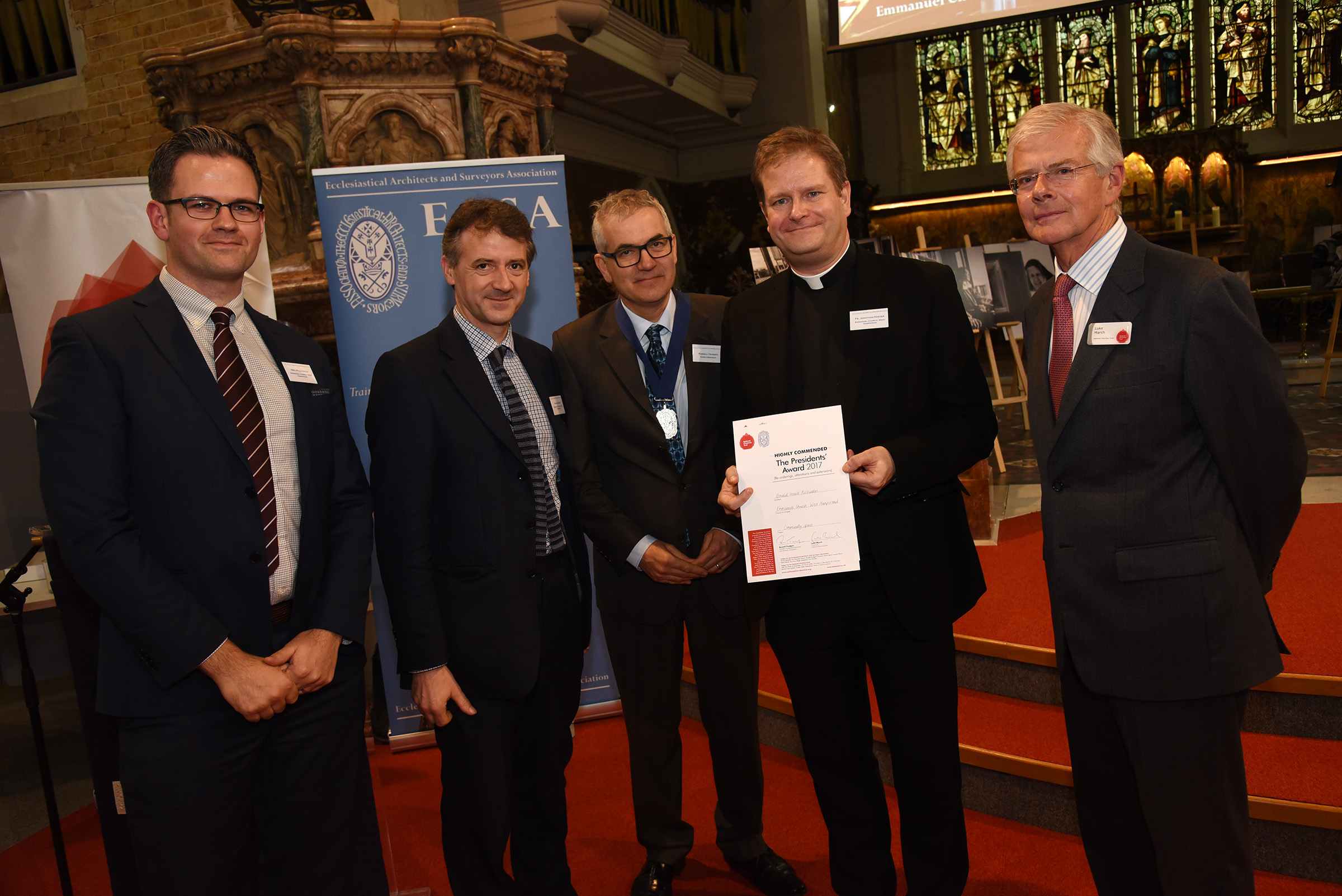 Emmanuel Church, West Hampstead, and Donald Insall Associates, Highly Commended for the Presidents' Award for reordering, extensions and alterations