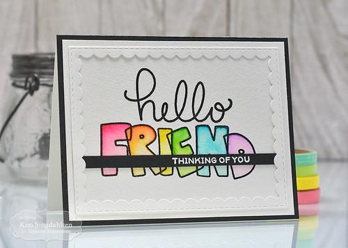 TE Hello Friend