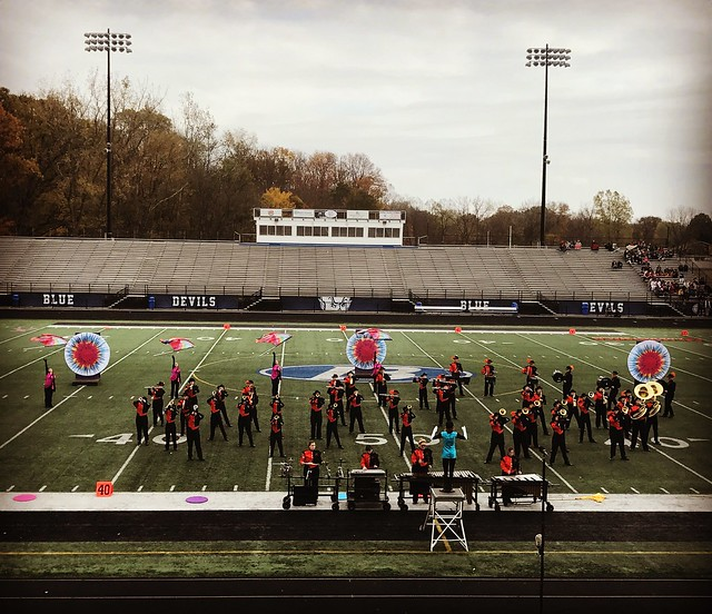 ?Ridgewood Marching Generals at the OMEA State Marching Band finals. Superior rating overall and in every category! ?