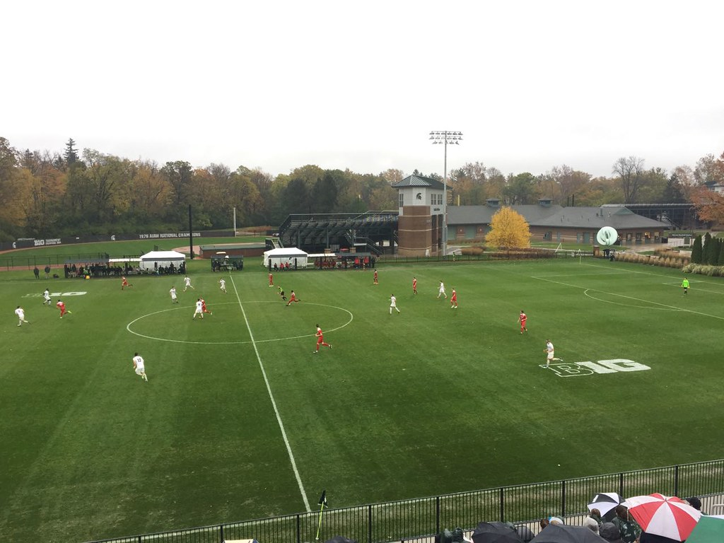 Michigan State Soccer lost to Ohio State, 2-1, in Big Ten Quarterfinals