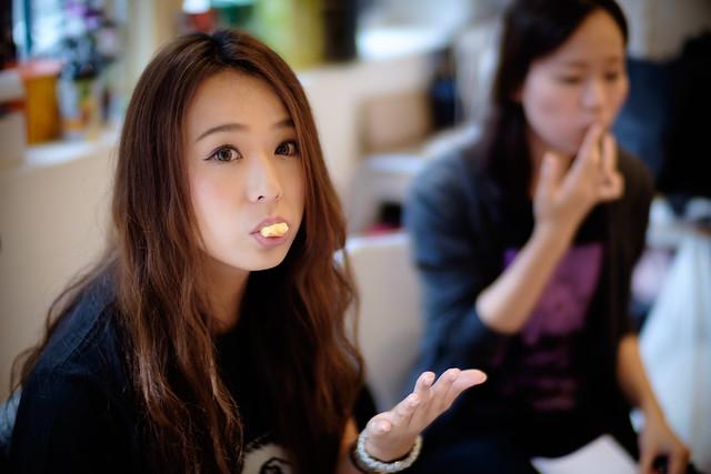 Aki ( who eats cake )