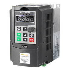 220V 0.75KW 4A Single Phase Variable Speed Motor Drive Speed Frequency Converter (1187705) #Banggood