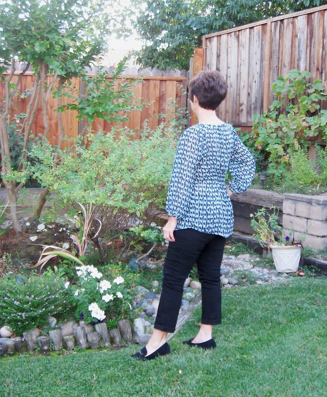 bow blouse back