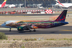 Brussel Airlines A320 (Tomorrowland)