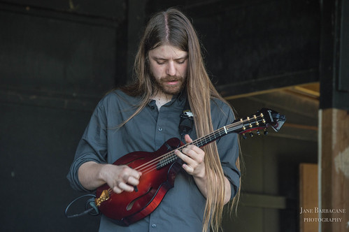 The Dirty Grass Players' Ryan Rodgers on mandolin